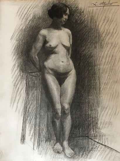 APCHER (XXe siècle)  Plus de 80 dessins de...