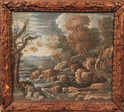 Ecole française de la fin du XVIIe siècle...