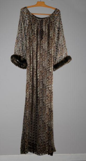 GIVENCHY NOUVELLE BOUTIQUE  Robe longue en...