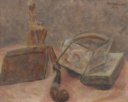 Élysée CAVAILLON (1873-1954)  Nature morte...
