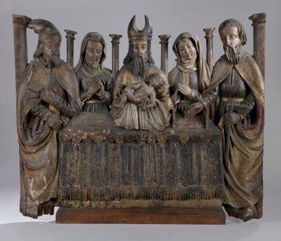 ALLEMAGNE du Nord vers 1500  La Circoncision...