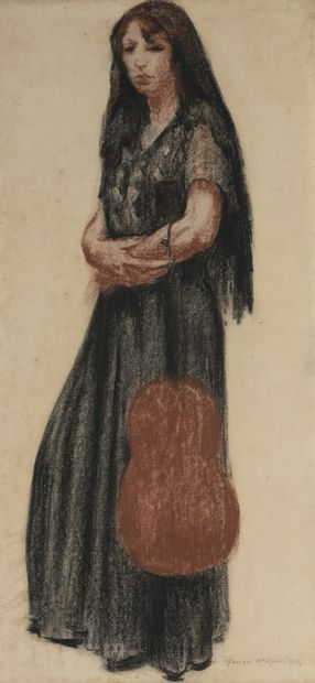 Georges DORIGNAC (1879-1925)  Femme à la...