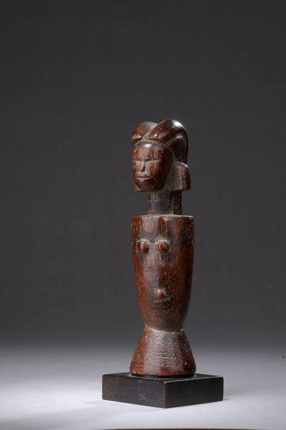 KWERE DOLL, Tanzania  Hardwood with reddish-brown...