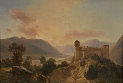 Siméon FORT (1793-1861)  Forteresse médiévale...
