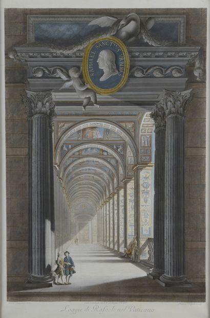 Ecole ITALIENNE du XVIIIe siècle, d'après...