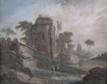 Attribué à Pierre Antoine PATEL (1648-1707)...