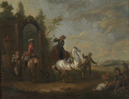 Attribué à August QUERFURT (1696-1761)  La...
