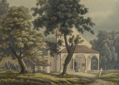 École ANGLAISE du début du XIXe siècle  La...