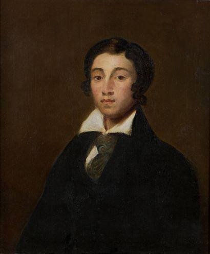 École ROMANTIQUE du XIXe siècle  Portrait...