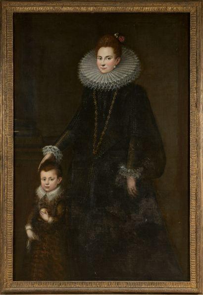 École ESPAGNOLE, 1605, suiveur de Alonso...
