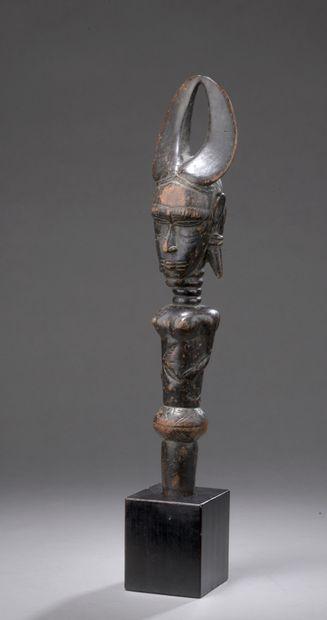 DJIMINI FISH HUNTER, Ivory Coast  Wood with...