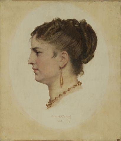 Edouard Louis DUBUFE (1819/20-1883)  Profil...