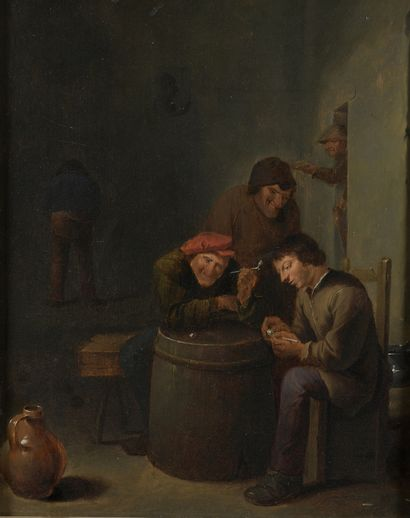 École FLAMANDE du XVIIIe siècle, dans le...