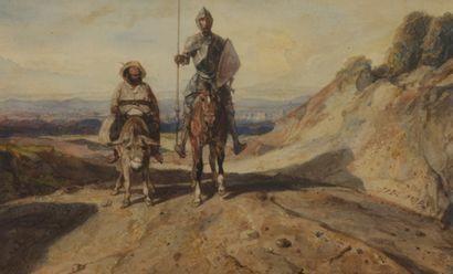 Alexandre Gabriel DECAMPS (1803-1860)  Don...