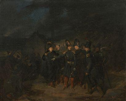 Attribué à Auguste RAFFET (1804-1860)  La...