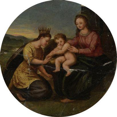 École VERONAISE du XVIIe siècle  Le mariage...