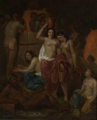 Charles LEGAL (1794-?)  Le tonneau des Danaïdes...