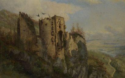 École FRANÇAISE du XIXe siècle  Paysage de...