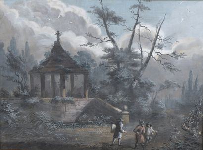 École FLAMANDE de la fin du XVIIIe siècle...