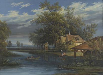 Attribué à Alphonse N. MANDEVARE (1759-1829)...