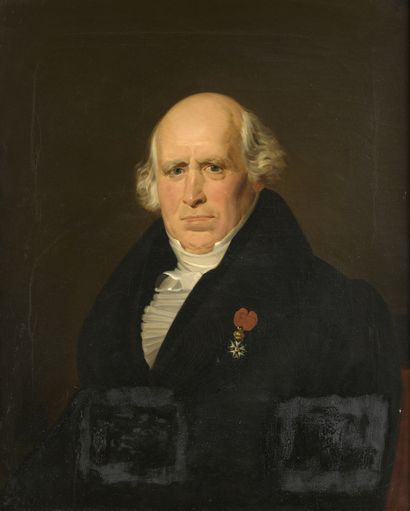 D'après Louis HERSENT (1777-1860)  Portrait...