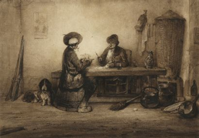 Alexandre Gabriel DECAMPS (1803-1860)  Les...