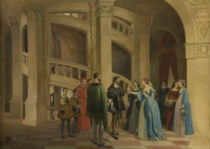 Louis-Édouard MAY dit EDWARMAY (1807-1881)...