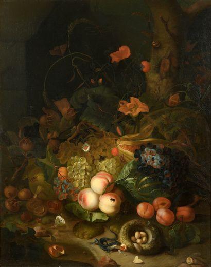 École HOLLANDAISE du XVIIIe siècle, atelier...