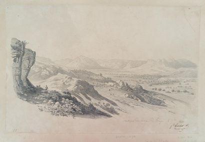 Lot de 4 dessins du XIXè siècle :  - Francisque...