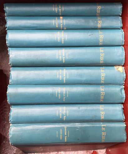 LE RIRE - Revue. 8 volumes :  2è année :...