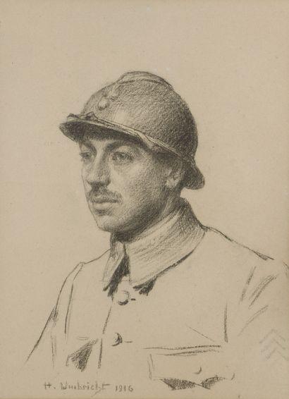 Honore UMBRICHT (1860-1943)  Portrait de...