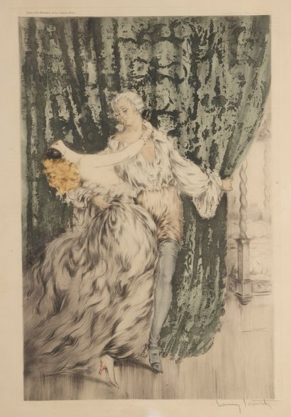 Louis ICART (1888-1950)  Casanova. 1928....