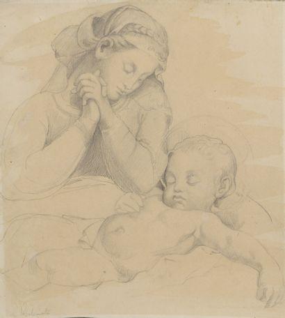 Attribué à Luigi CALAMATTA (1801 - 1869)...