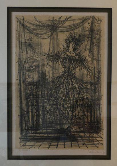 Jean CARZOU (1907-2000)  La danseuse, 1954...