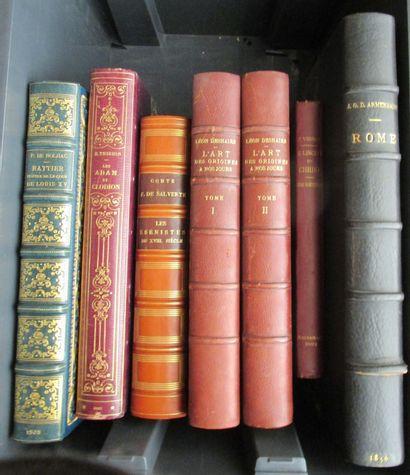 Important ensemble d'ouvrages de Beaux-Arts...