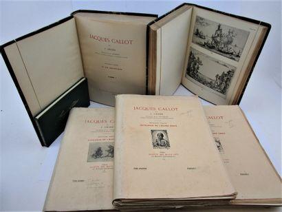 Lieure, Jules. - Jacques Callot, Paris, éditions...