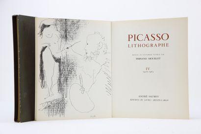 Mourlot, Fernand. - Picasso lithographe....