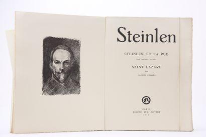 Auriol, George. - Steinlen et la rue - Dyssord,...