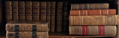 Lot de livres reliés comprenant :  - Leçons...