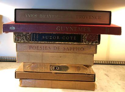 Ensemble de livres reliés et brochés, principalement...