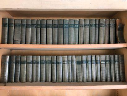 La Pléiade, plus d'une centaine de volumes....