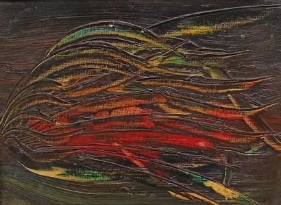 Jean-Paul ALEXANDRE (Xxè)  Sans titre, 1961...