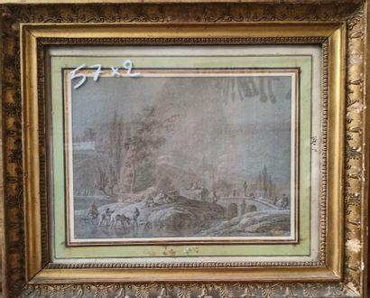 Pierre FIXON  (Actif au XVIIIème siècle)...