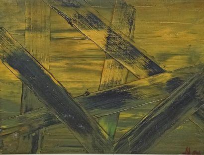 Jean-Paul ALEXANDRE (Xxè)  Inondations, 1963...