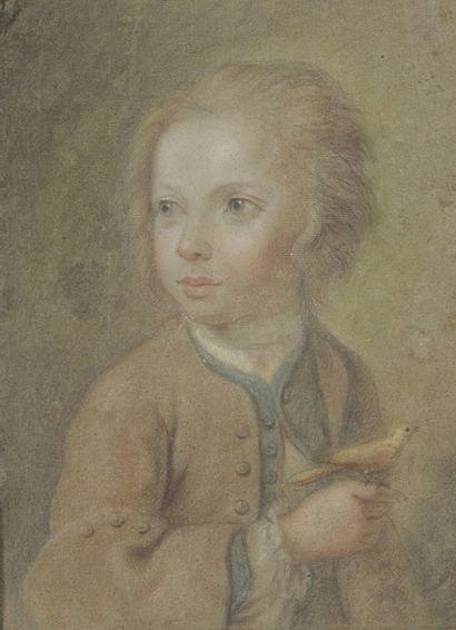 Ecole FRANCAISE du XVIIIème siècle  Jeune...