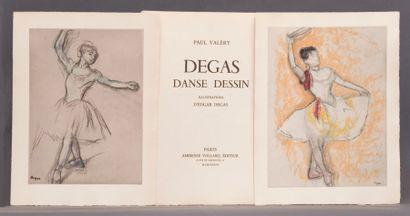 Valéry, Paul - Degas, Edgar. - Degas, Danse,...