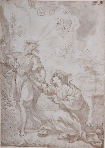 Domenico PIOLA (Gênes 1624-1703) Noli me...