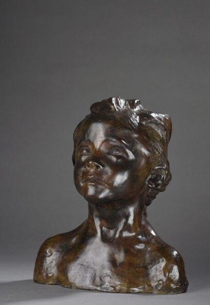 Camille Claudel (1864-1943) La petite châtelaine natte courbe, 1892-1896 Epreuve...