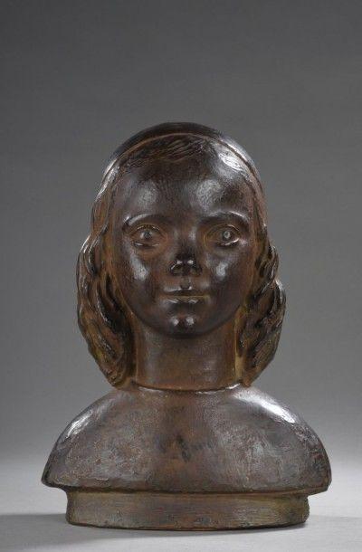 Paul BELMONDO (1898 -1982) Buste de Muriel...