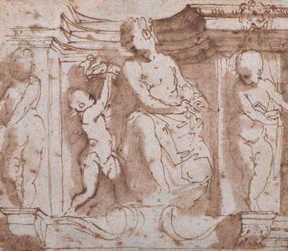 Bernardino INDIA (Vérone 1528-1590) Projet...